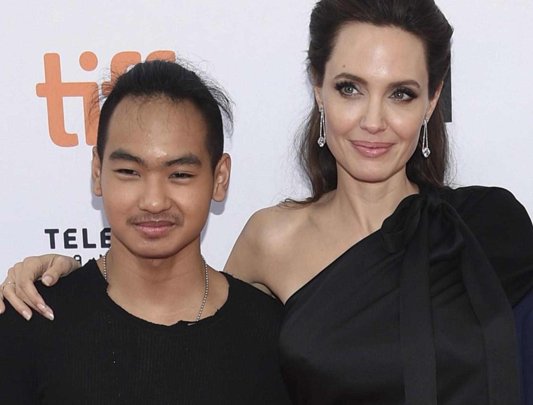 Maddox Pitt Angelina Jolie Brad