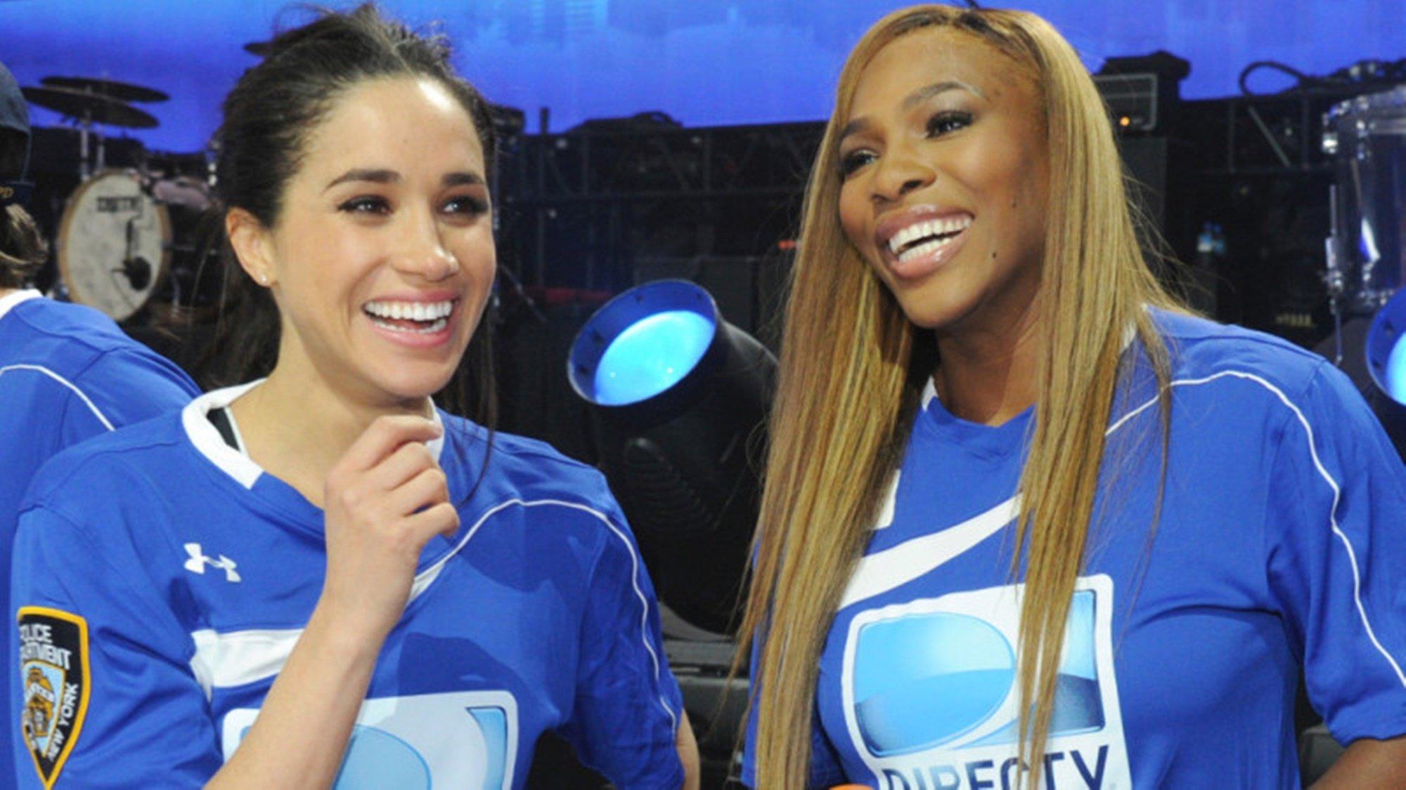 Meghan Markle Serena Williams Royal Baby Gender