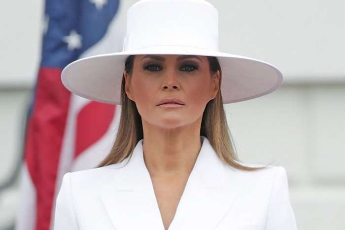 Something Seems Wrong With Melania Trump In Recent White House Bithday Tweet -- Internet Wants To Know If The Donald Angered Her Before The Photo Was Taken