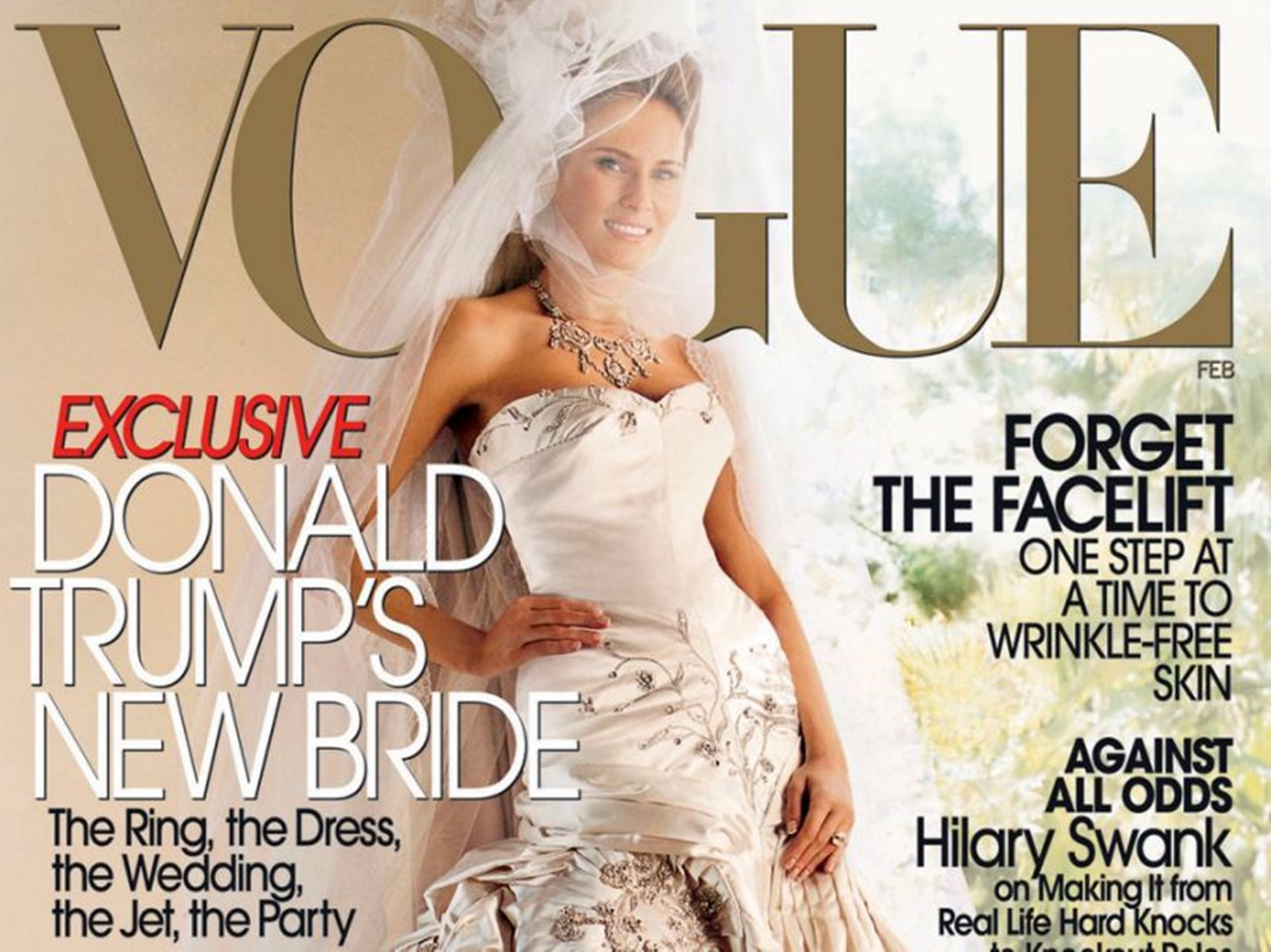Melania Trump Vogue Cover Anna Wintour