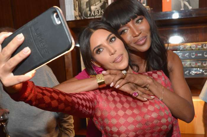 Naomi Campbell Shades Kim Kardashian When Asked About Their Alleged Feud Over The KUWK Star Copying Her Looks