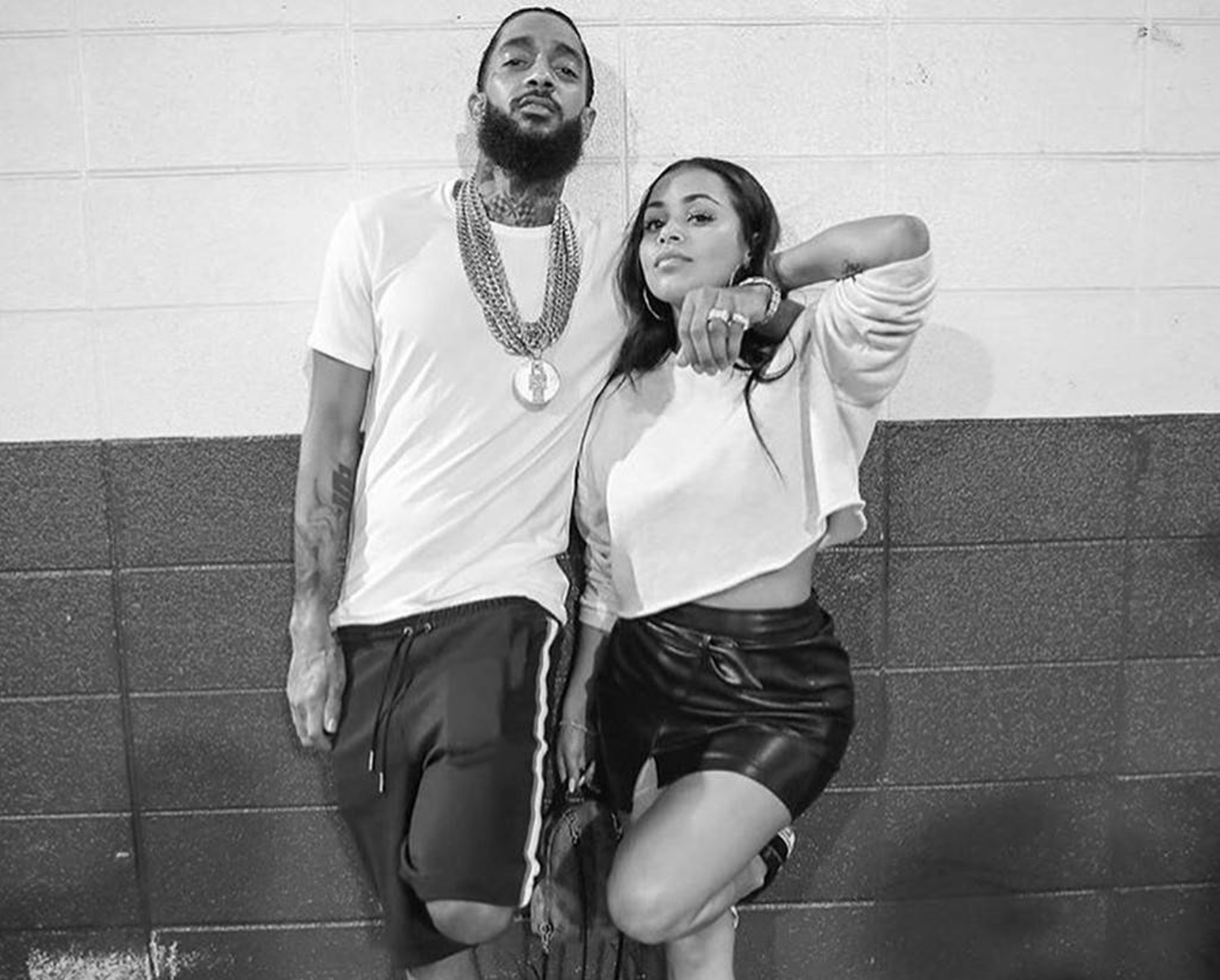 """""""lauren-london-debuts-massive-tattoo-of-nipsey-hussle-photo-gives-fans-chills-and-here-is-why-the-rapper-will-always-be-with-her"""""""
