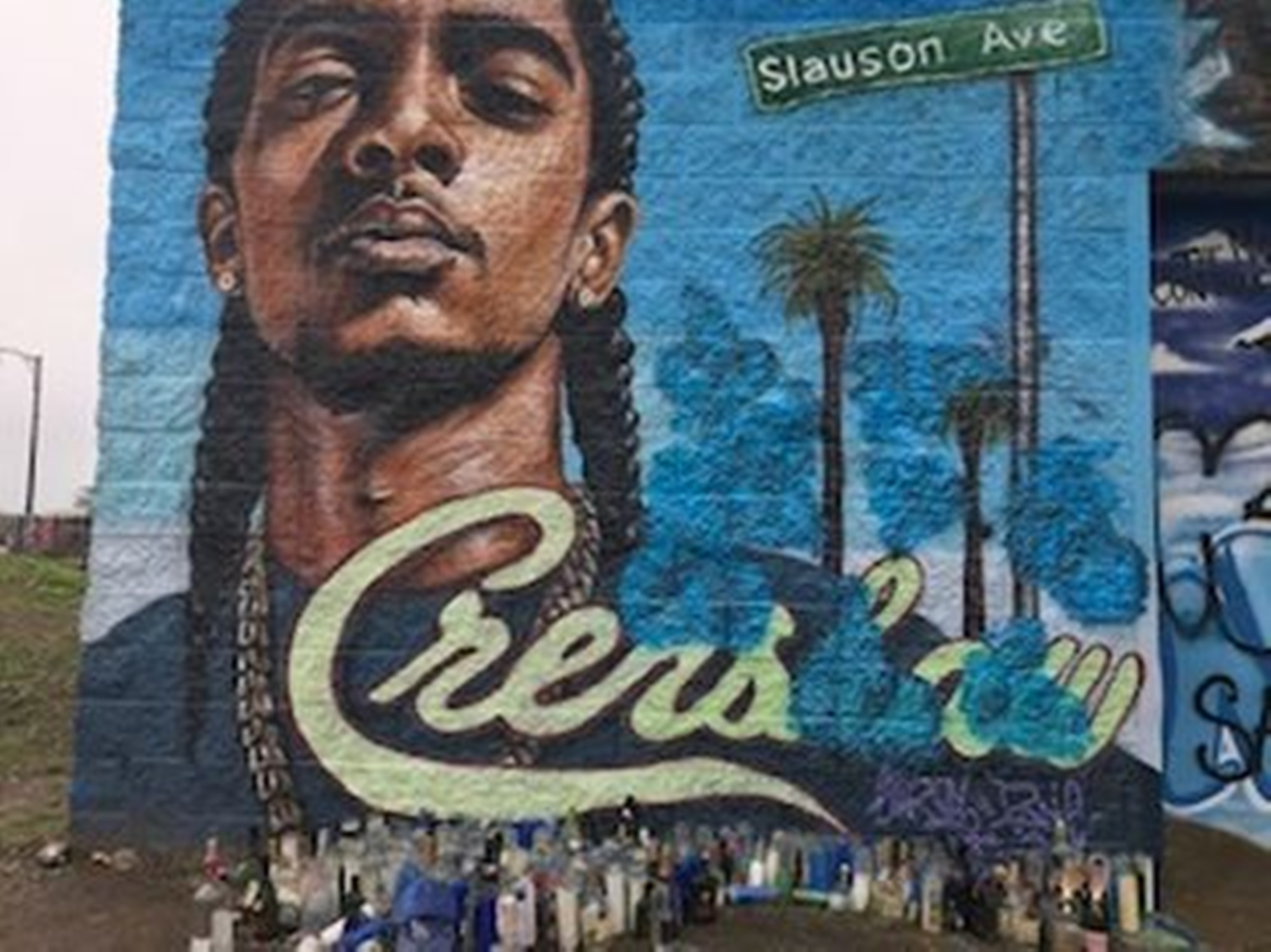 Nipsey Hussle Mural Teenager Connecticut