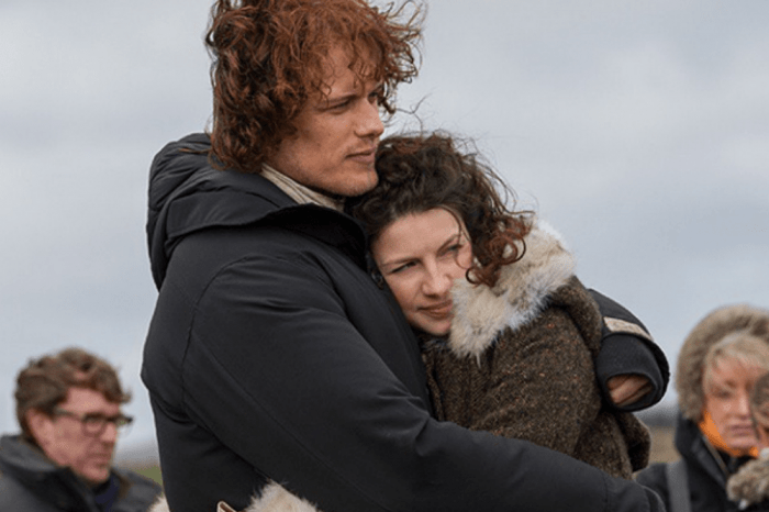 Outlander Stars Sam Heughan And Caitriona Balfe Tease The Start Of Production On Season 5
