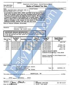 Porsha Tax Document