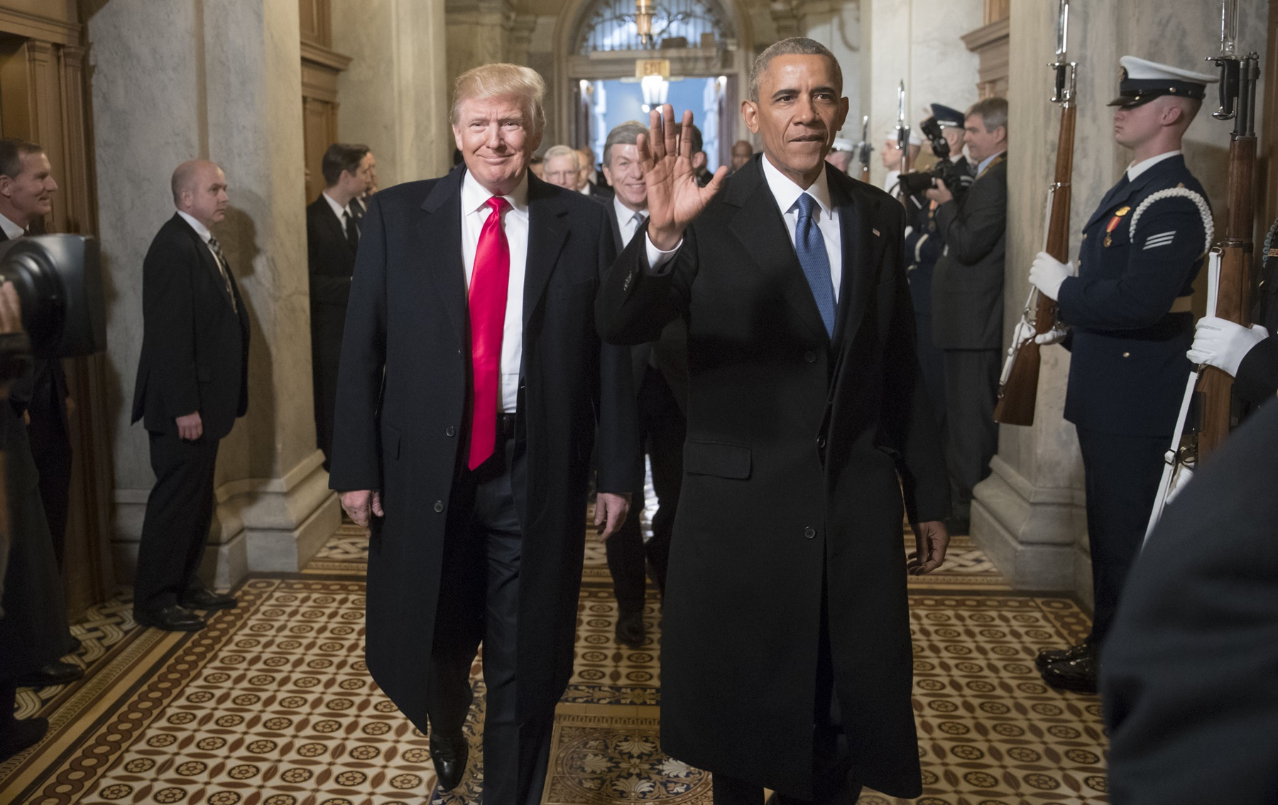 Donald Trump,Barack Obama