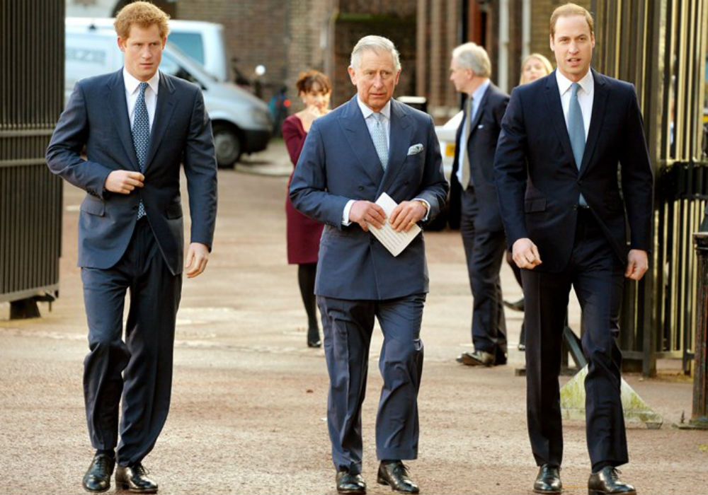 Prince Charles Feels 'Left Out' Of Prince Harry And Prince William's Lives