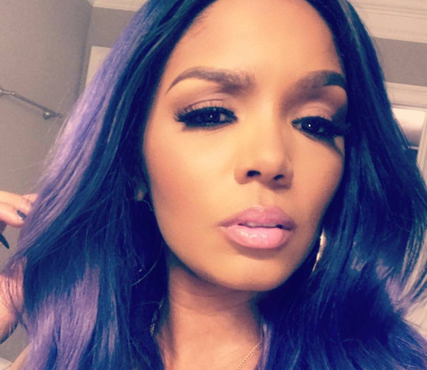 Rasheeda Frost's Wig Game Is The Best - Check Out The Latest Video In Which She's Showing Fans How Her Wig Stays On
