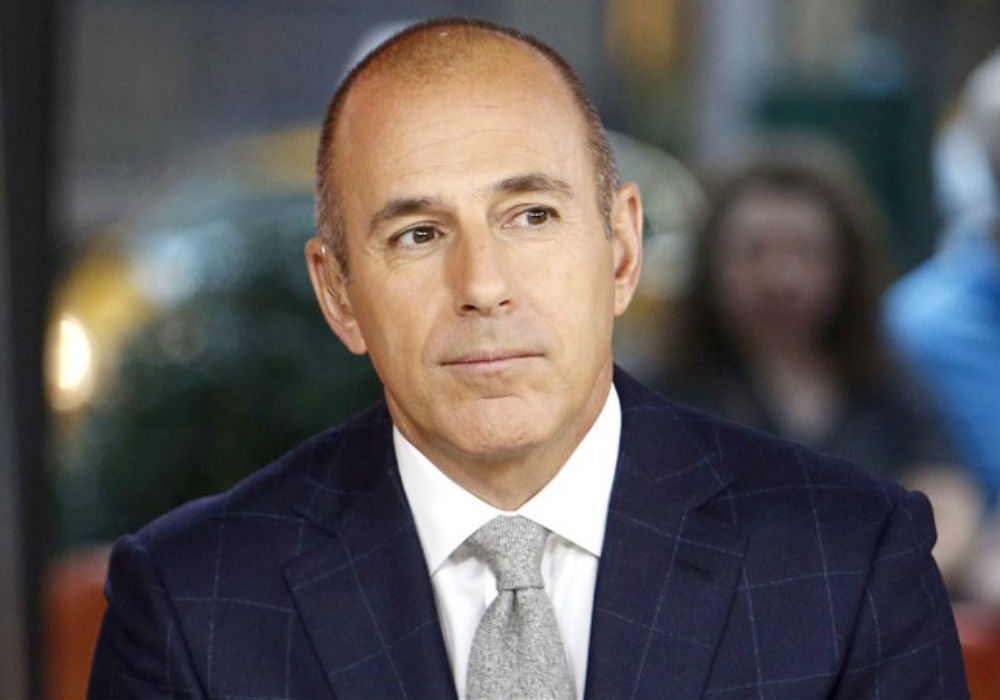 Reclusive Matt Lauer Spotted At Former NBC Boss Jeff Zucker's Bday Party