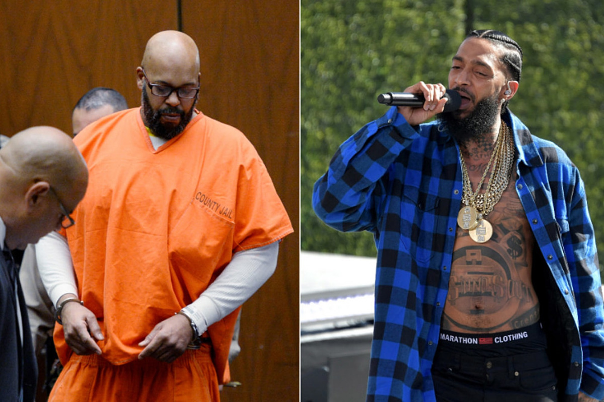 Suge Knight Nipsey Hussle Neighborhood