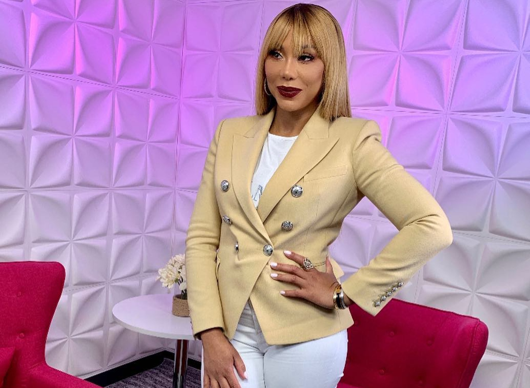 Tamar Braxton Traci Producers Family Values