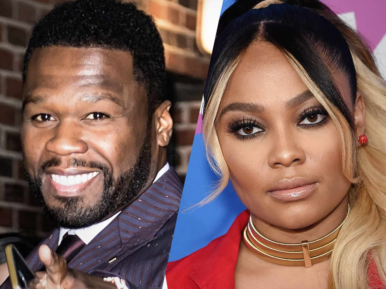 50 Cent and Teairra Mari
