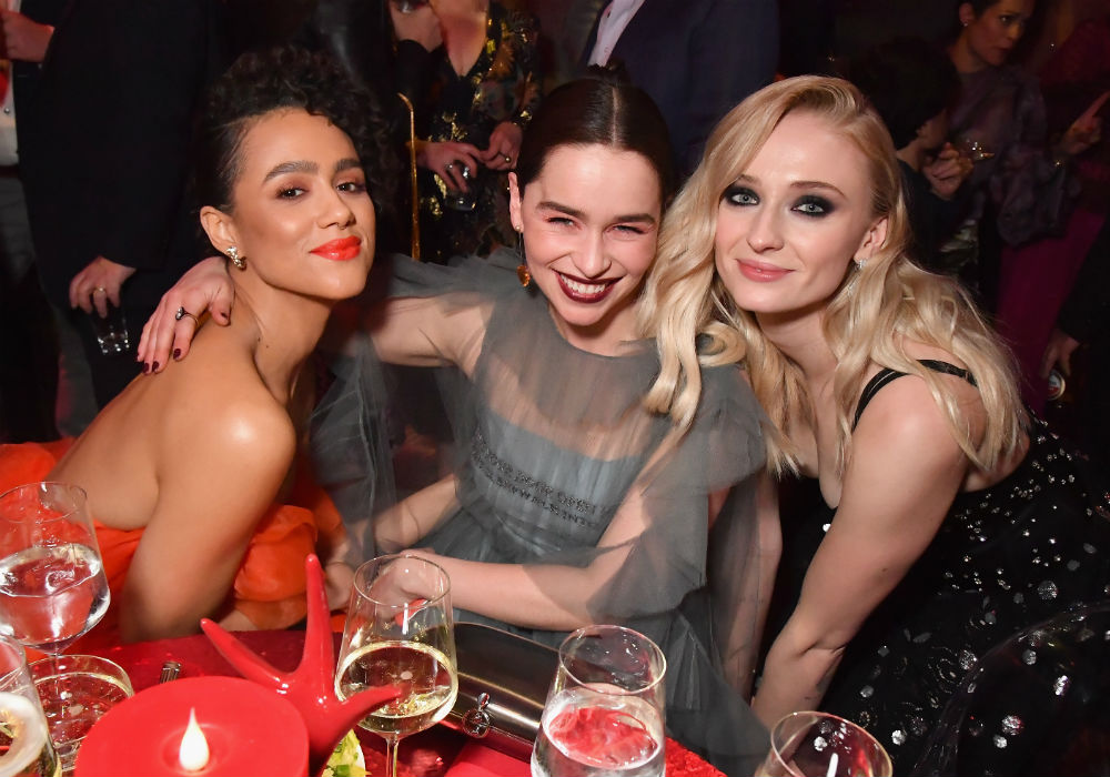 The Game Of Thrones Cast Drop Hints And Teasers A The Fashionable Season 8 Premiere