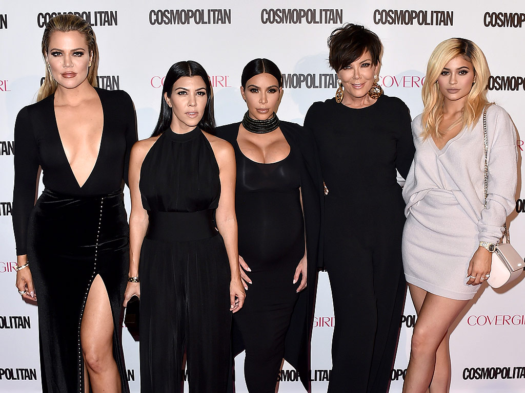 kardashians-honor-their-father-robert-kardashian-at-the-opening-of-a-new-medical-center