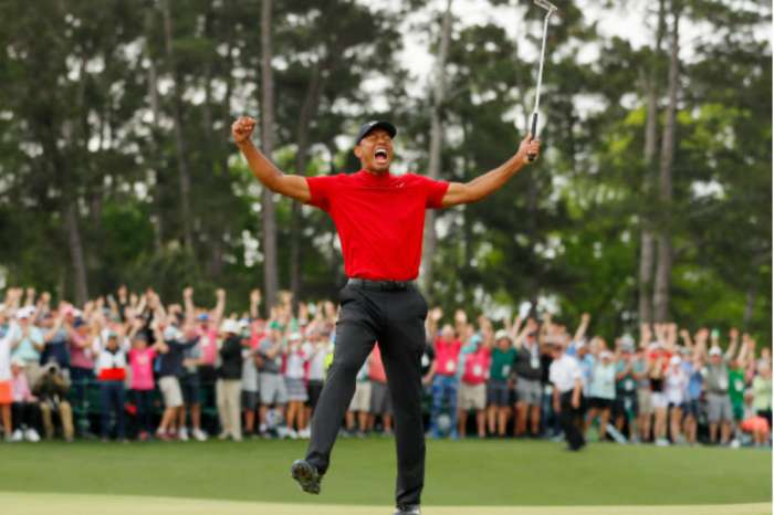 Tiger Woods' Wins His First Masters In 14 Years With His Troubled GF Erica Herman By His Side