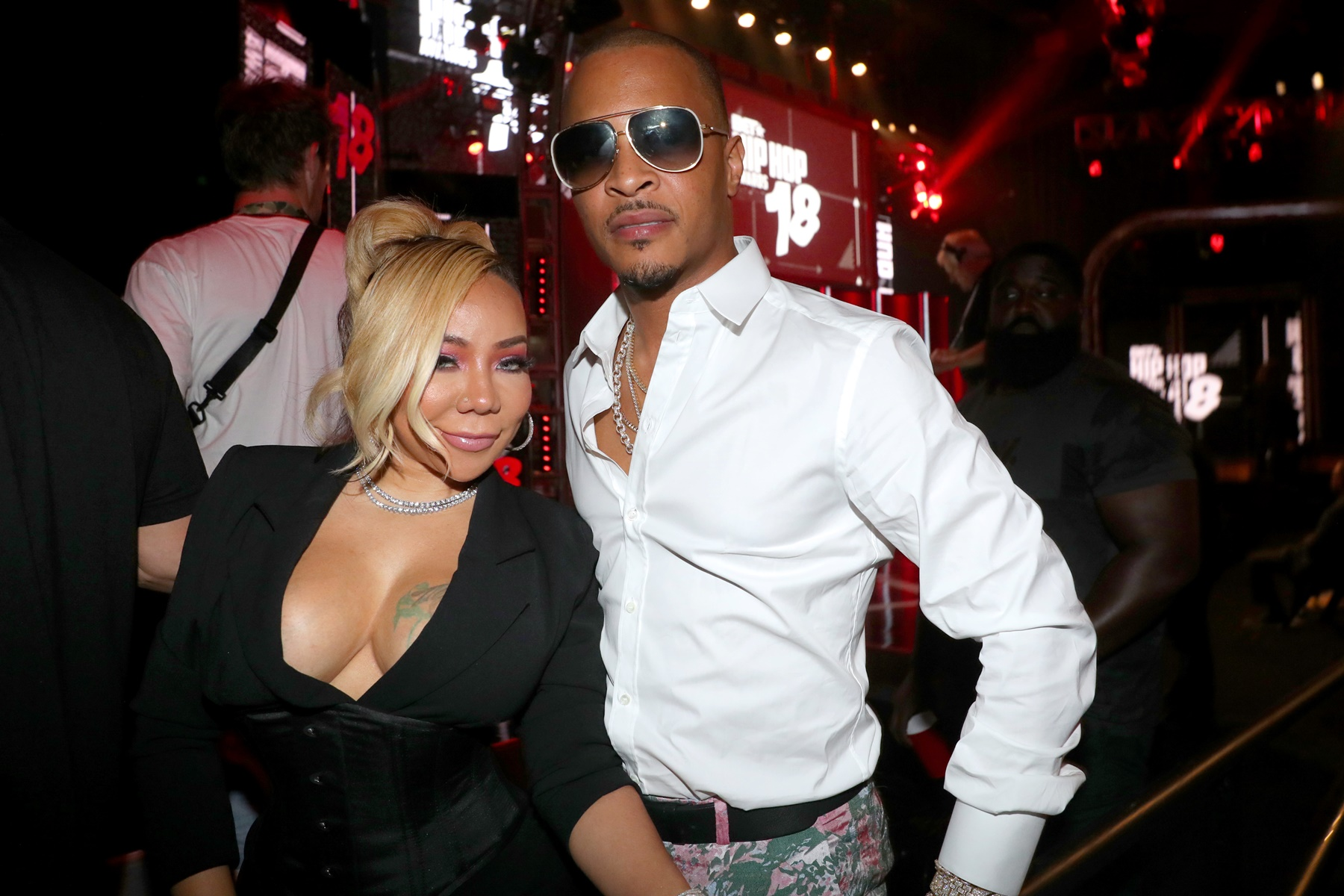 Tiny Harris T.I. Lauren London Nipsey Hussle