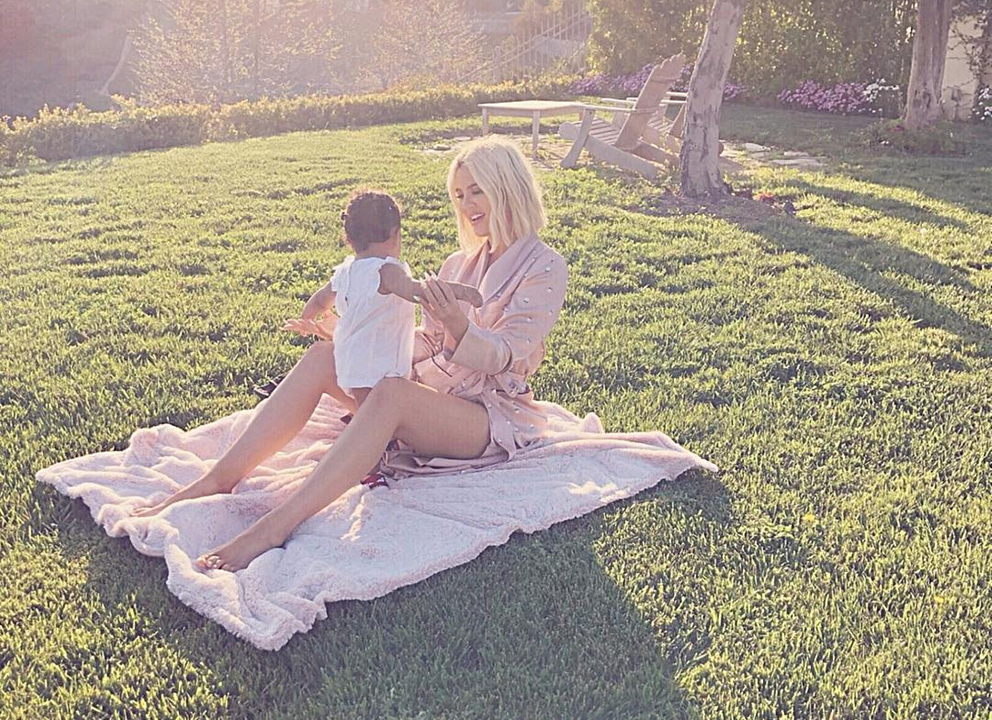 True Thompson Khloe Kardashian Tristan