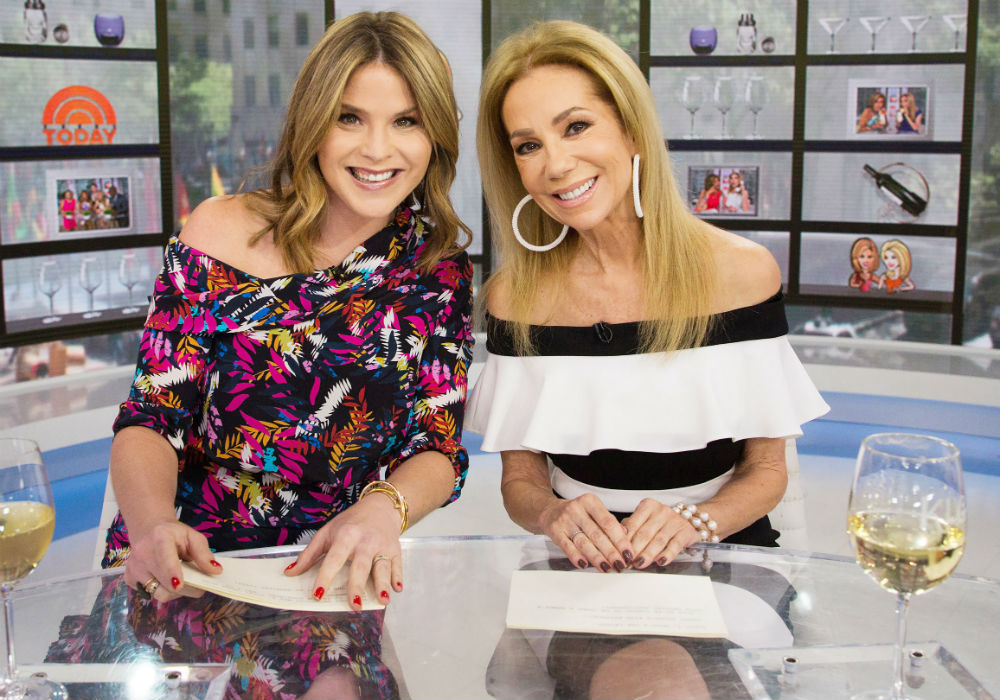 What Kathie Lee Gifford Gave Jenna Bush Hager When She Handed Over The Reigns At Today