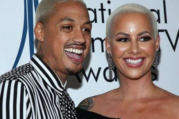 Amber Rose Can See Herself Marrying AE - Wants To Spend Forever With Him!