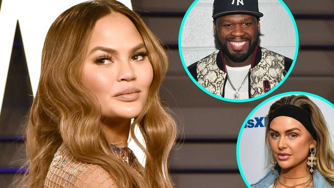 Chrissy Teigen Pokes 50 Cent And He Responds - Fans Are Having A Laugh Seeing The Exchange Of Comments Between Them