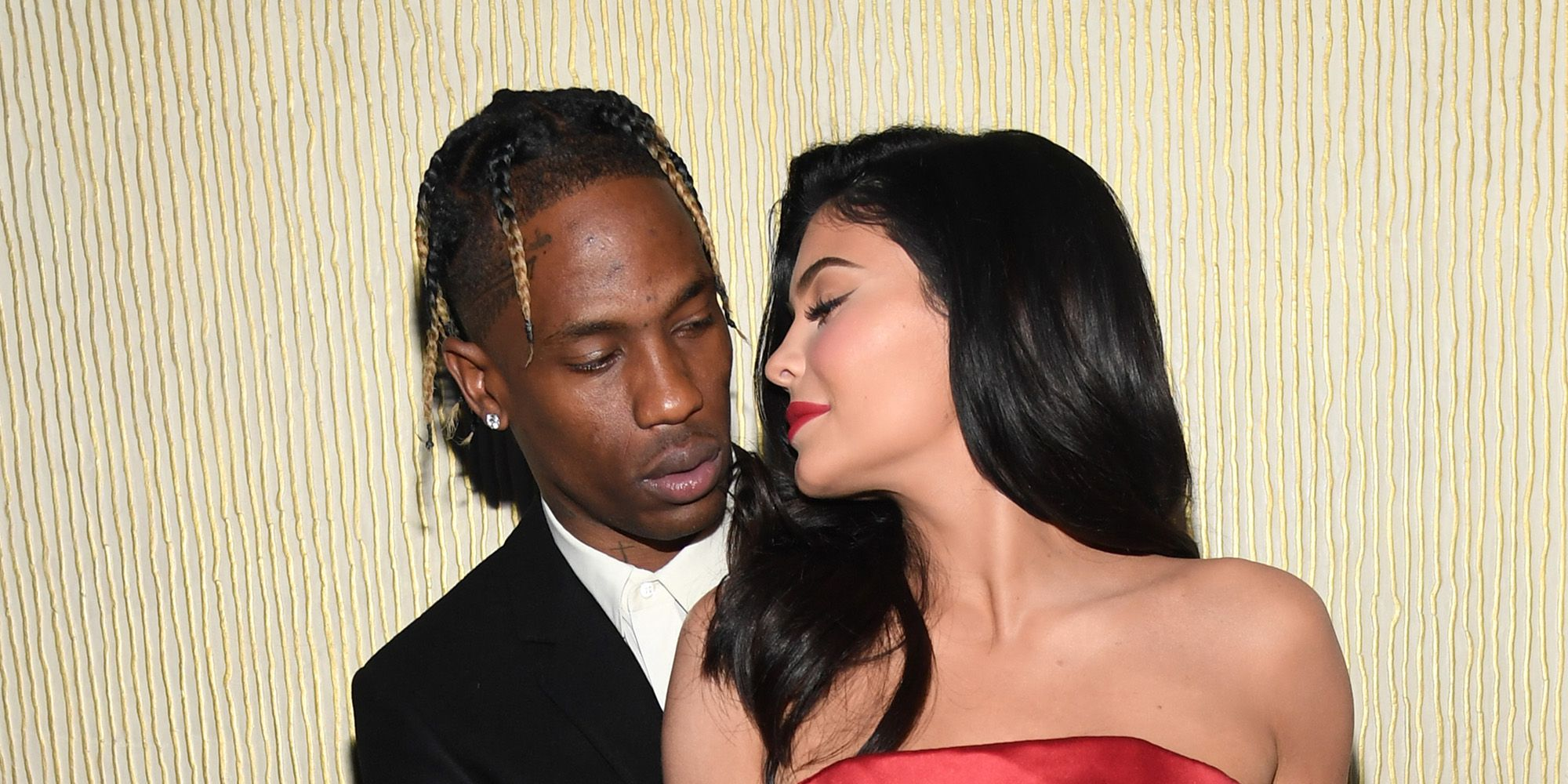 Kylie Jenner And Travis Scott Pack On The PDA At Kanye West's Sunday Service At Coachella