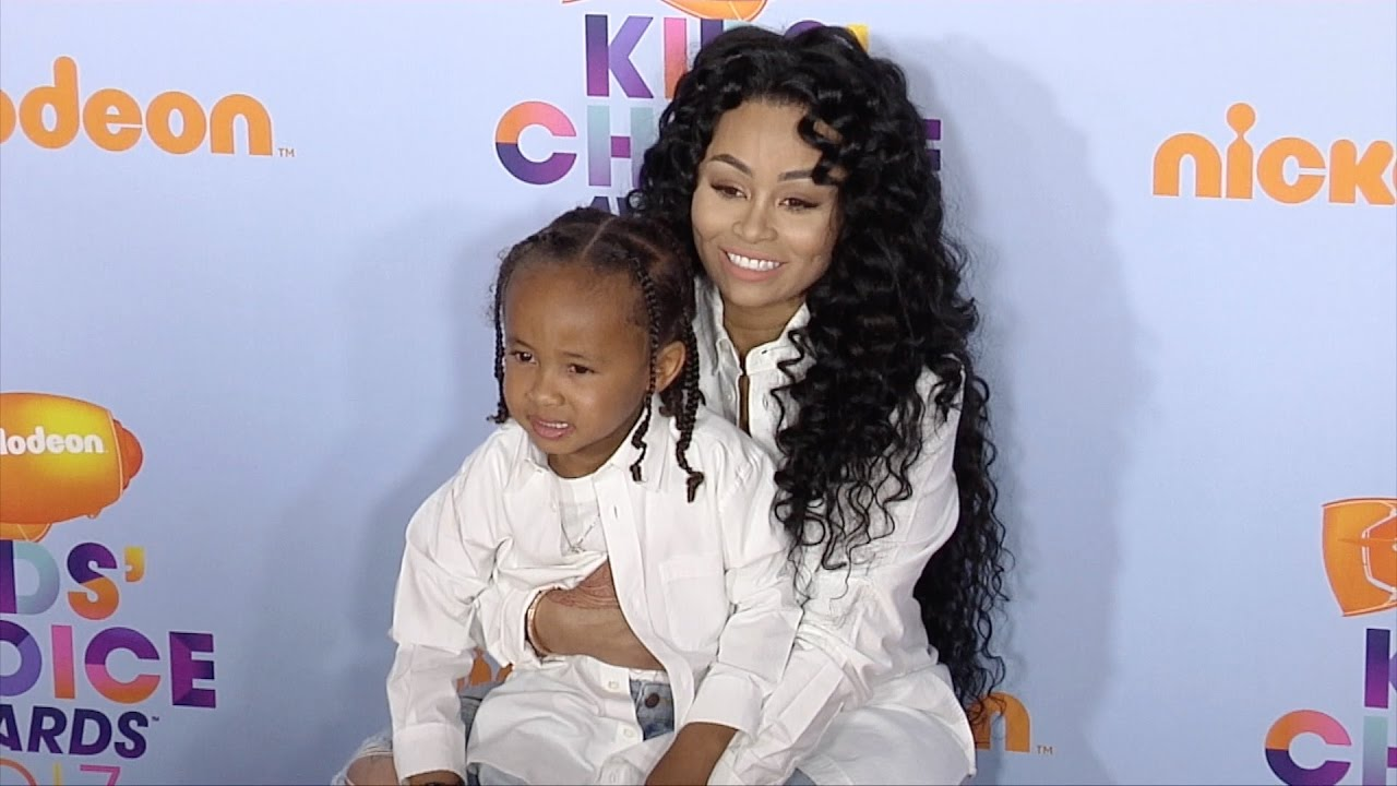 Blac Chyna Flaunts Her Curves By The Pool With Her Son, King Cairo Who's Tyga's Twin: 'I Got A Real King On My Side' - See The Pics
