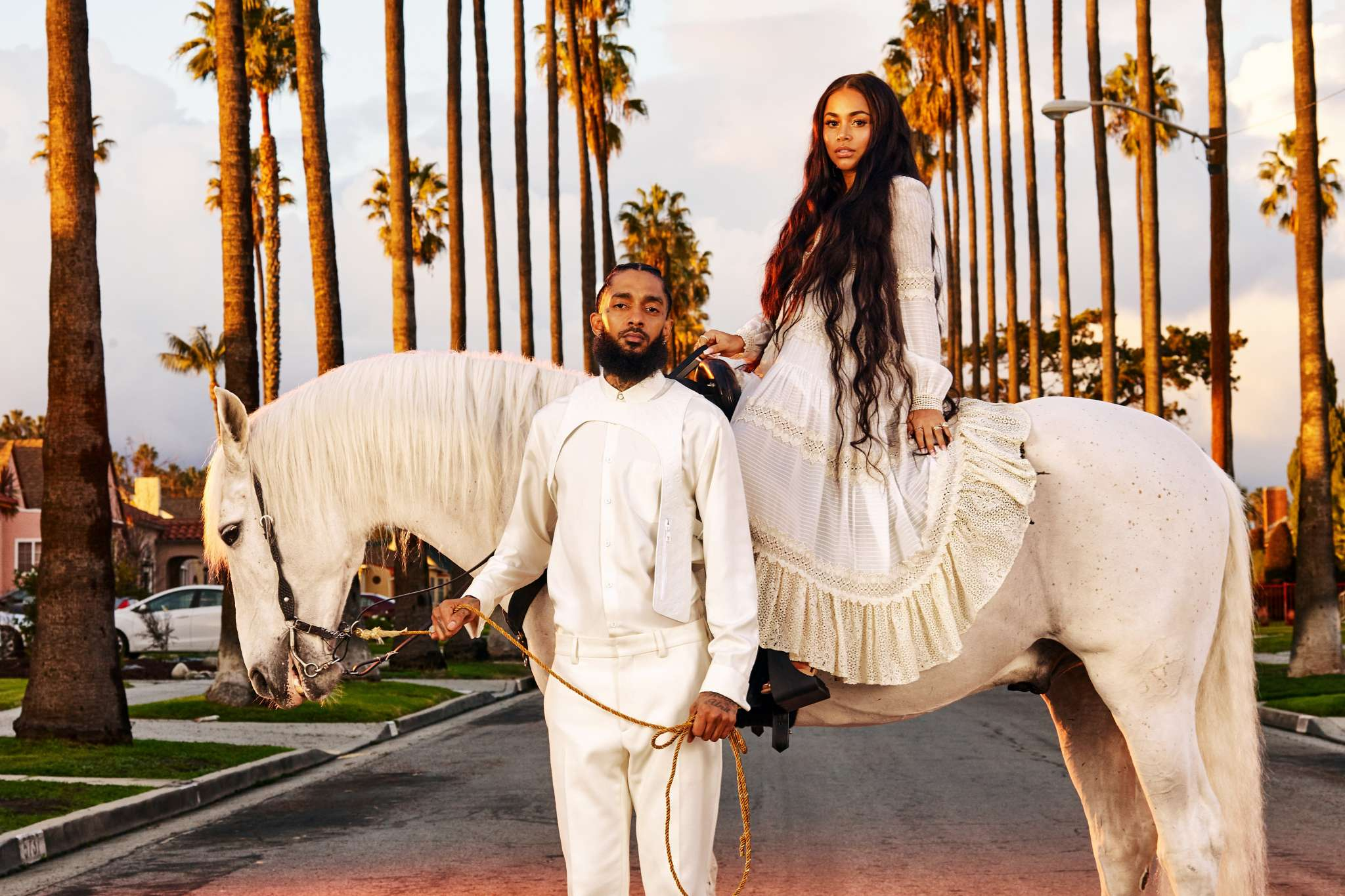 J.Lo, Alicia Keys, Ciara, And More Celebrities Are Sending Their Love And Support To Nipsey Hussle's Devastated Girlfriend Who Lost Her 'Sanctuary, Protector, And Soul'