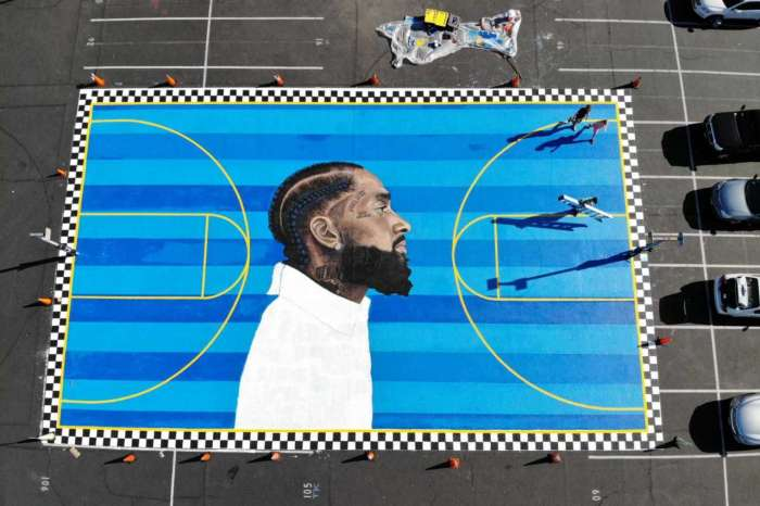 Nipsey Hussle: The Highest Human Act Is To Inspire - See The Emotional Videos Of Nip's Basketball Court Mural Unveiled At Crete Academy