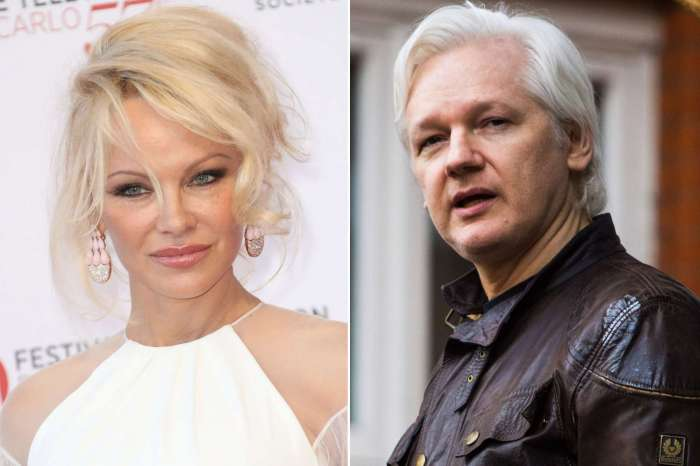 Pamela Anderson Says She's 'In Shock' After Julian Assange's Arrest - CondemnsThe U.S.!