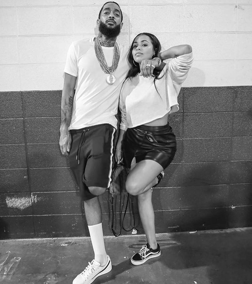 Tamar Braxton Says She's Feeling Selfish Flaunting Her Happiness With David, While Lauren London Is Living The Most Painful Time Of Her Life - Read Her Emotional Message In Which She Praises Nipsey Hussle's Love