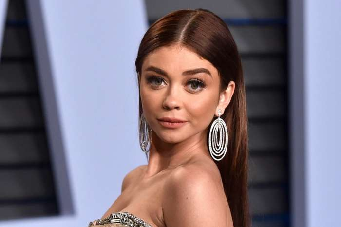 Sarah Hyland Puts Her Impressive Abs On Display While Hitting The Gym