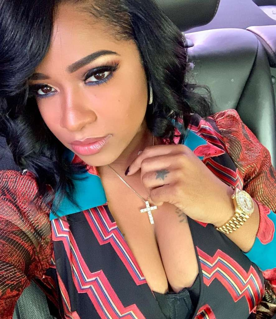 Toya Wright And Reign Rushing Grace The Mother