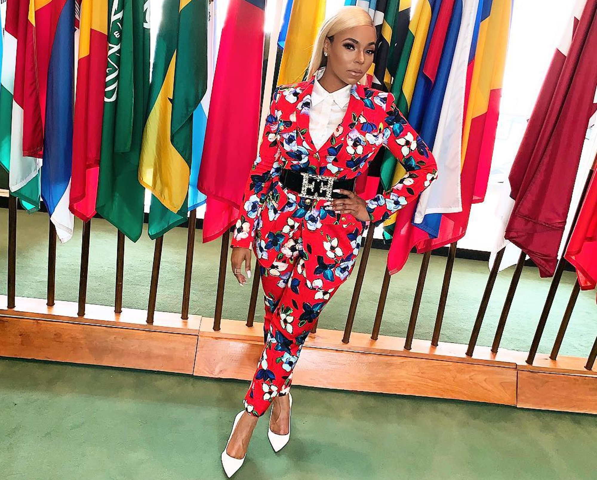 Ashanti United Nations Beat The Plastic Concert