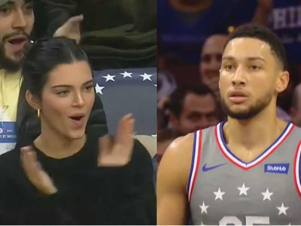 twitter-explodes-with-ben-simmons-fans-telling-him-to-dump-kendall-jenner-and-blaming-kardashian-curse-for-76ers-playoff-loss