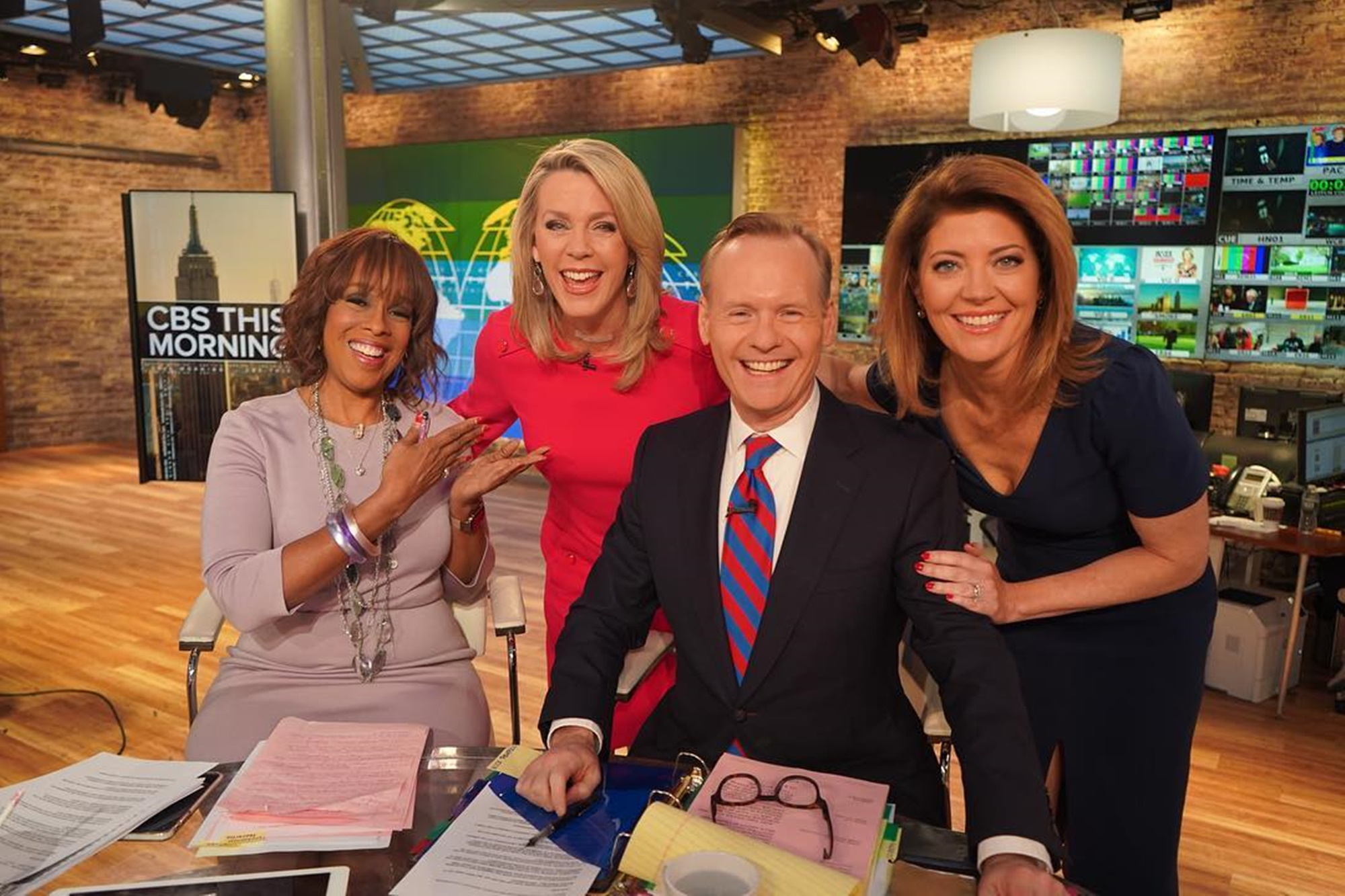 CBS This Morning Gayle King Deborah Norville John Dickerson Norah O'Donnell