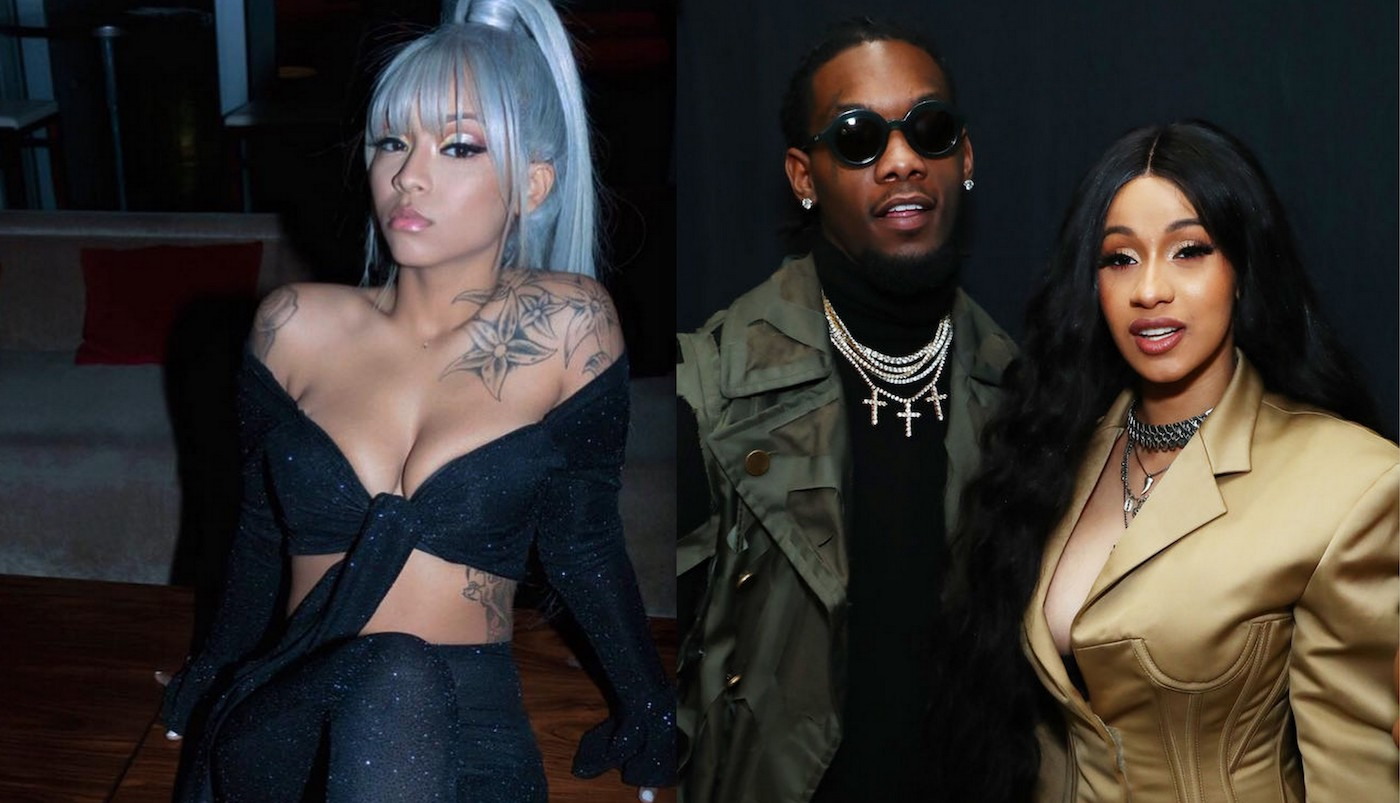 Offset's Alleged Former Side Chick, Cuban Doll Loses Her Phone And Consciousness During Her Birthday Party - Here's The Video Showing Her Passed Out