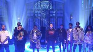 DJ Khaled Performs Alongside Crew Of The Biggest Names In Hip-Hop And R & B On SNL