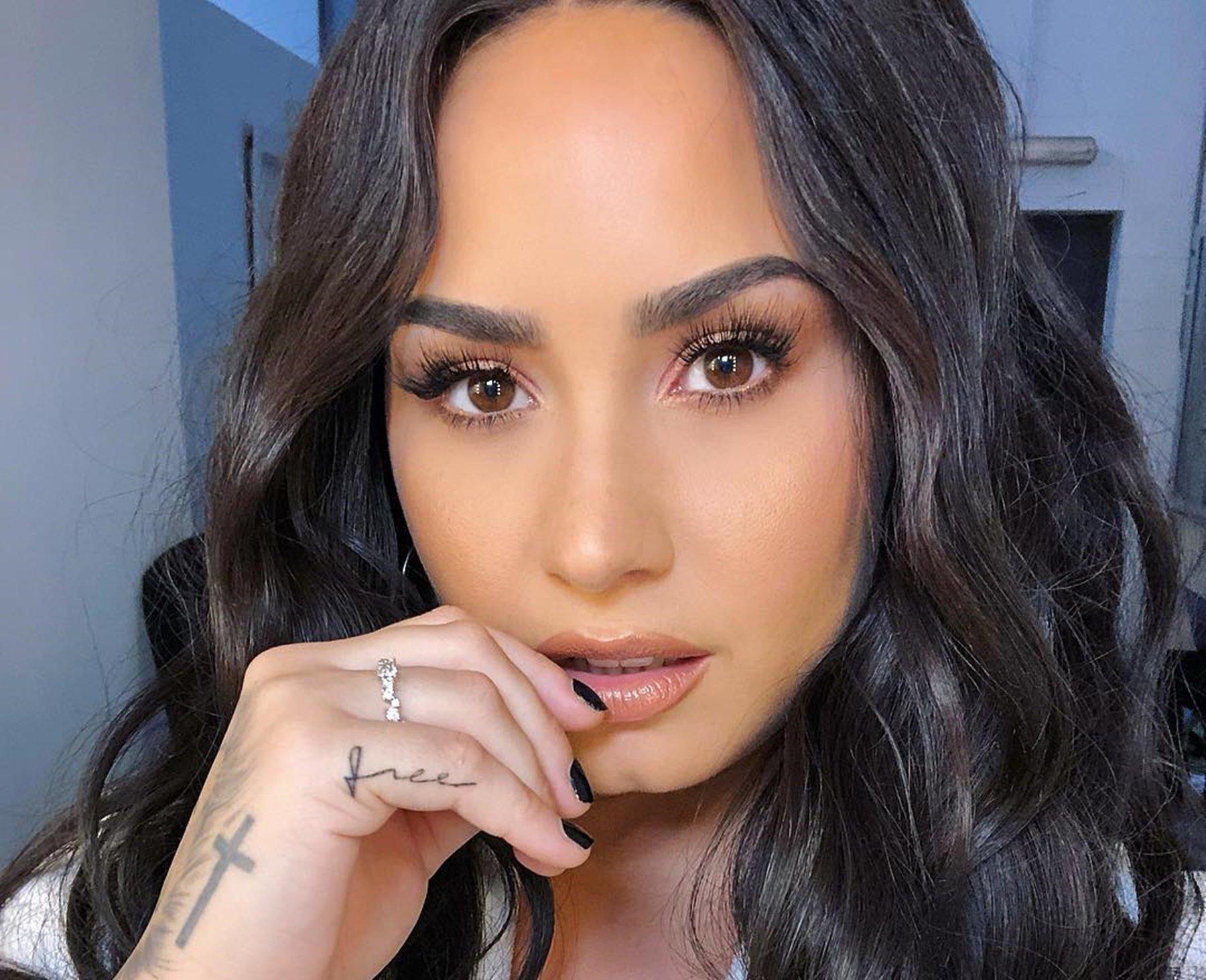 Demi Lovato Bora Bora Vacation Weight Clap-Back