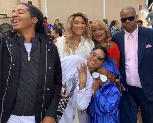 Tamar Braxton's Ex, Vincent Herbert, Looks Angry In Their Son Logan Graduation Picture -- Here Is Why Toni's Sister May Need To Reach Out To Him More