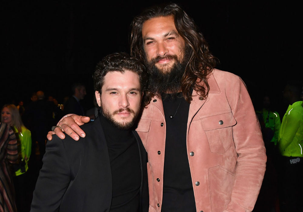 Do Game Of Thrones Stars Kit Harington And Jason Momoa Have A Fake Friendship_