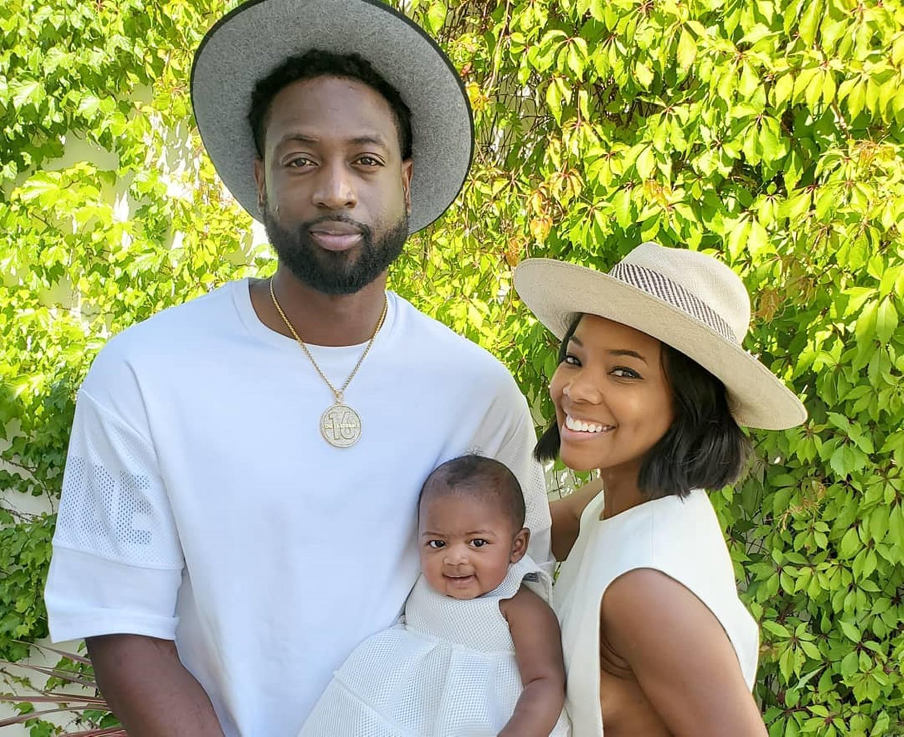 Dwyane Wade Baby Kaavia Gabrielle Union
