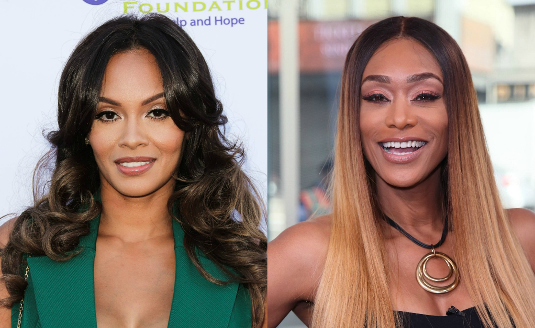 Evelyn Lozada Tami Roman Basketball Wives