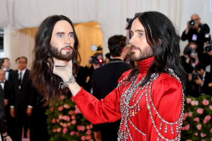 Jared Leto Carries His Head At The Met Gala