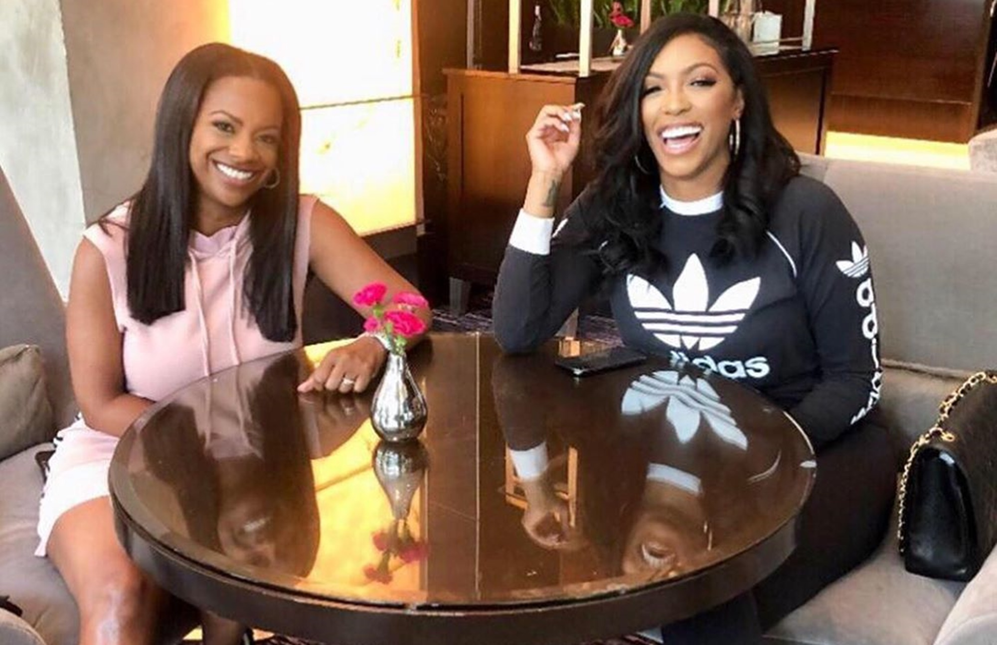 Kandi Burruss Porsha Williams RHOA Feud