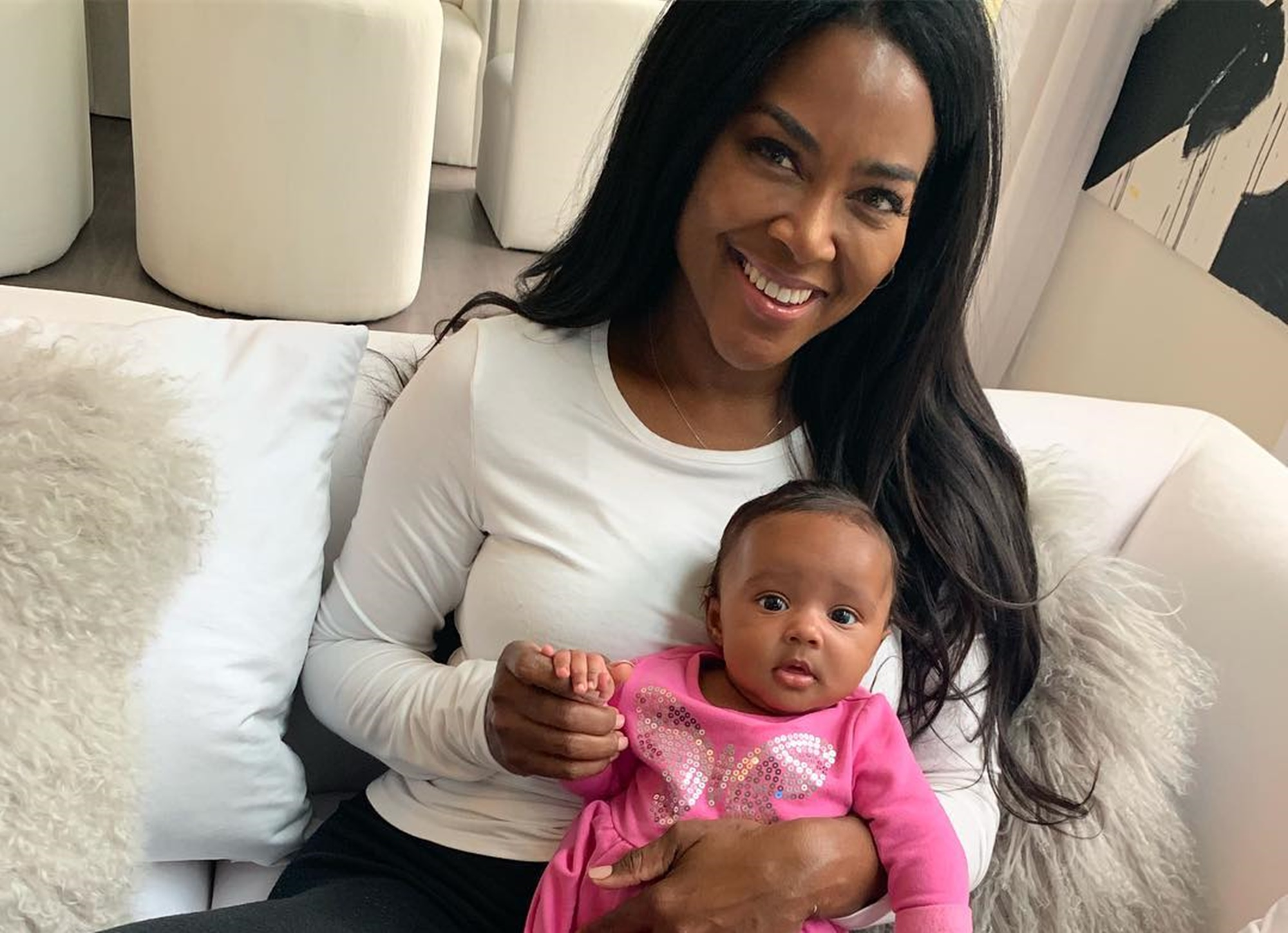 Kenya Moore Brooklyn Daly Mother's Day