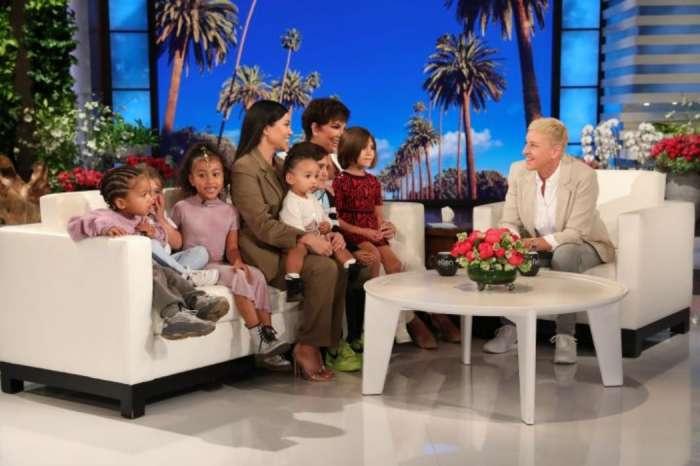 Watch The Moment Kourtney Told Kris Jenner Kim Kardashian's And Kanye West's Surrogate Was In Labor — It Happened On Ellen!