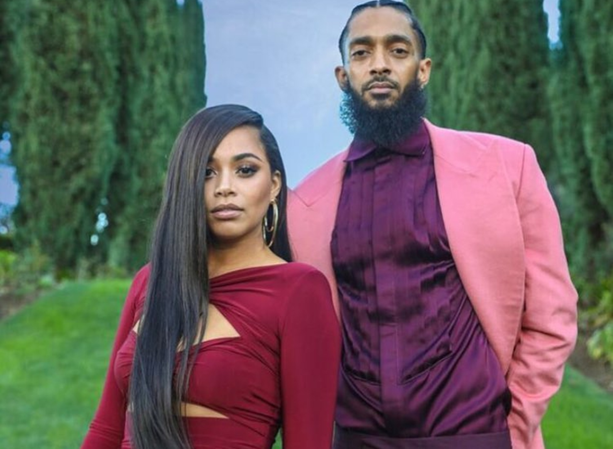 Lauren London Nipsey Hussle CharlamagneTha God