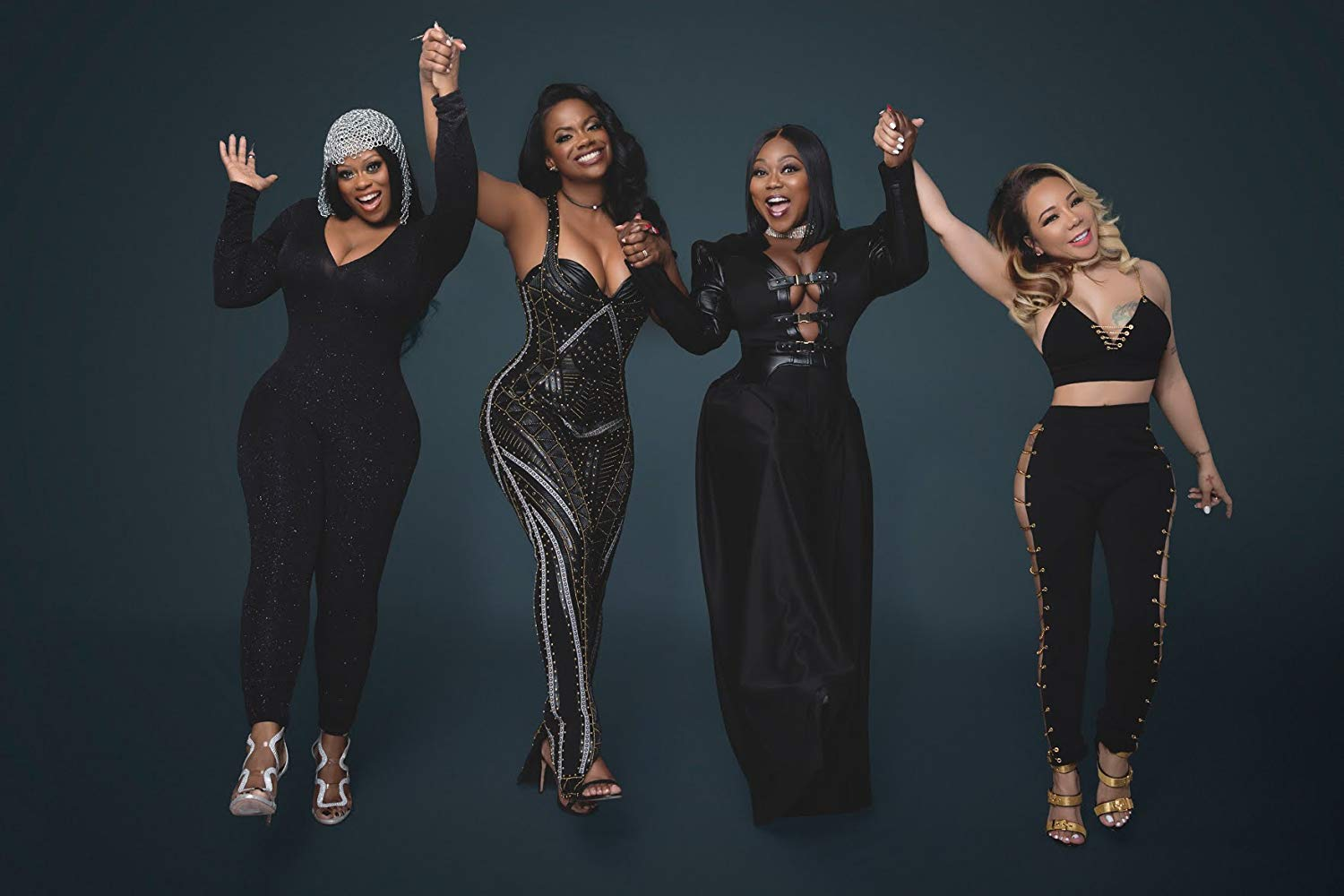 """""""tiny-harris-and-tamika-scott-are-showing-off-their-best-angles-on-camera-and-kandi-burruss-is-here-for-it"""""""