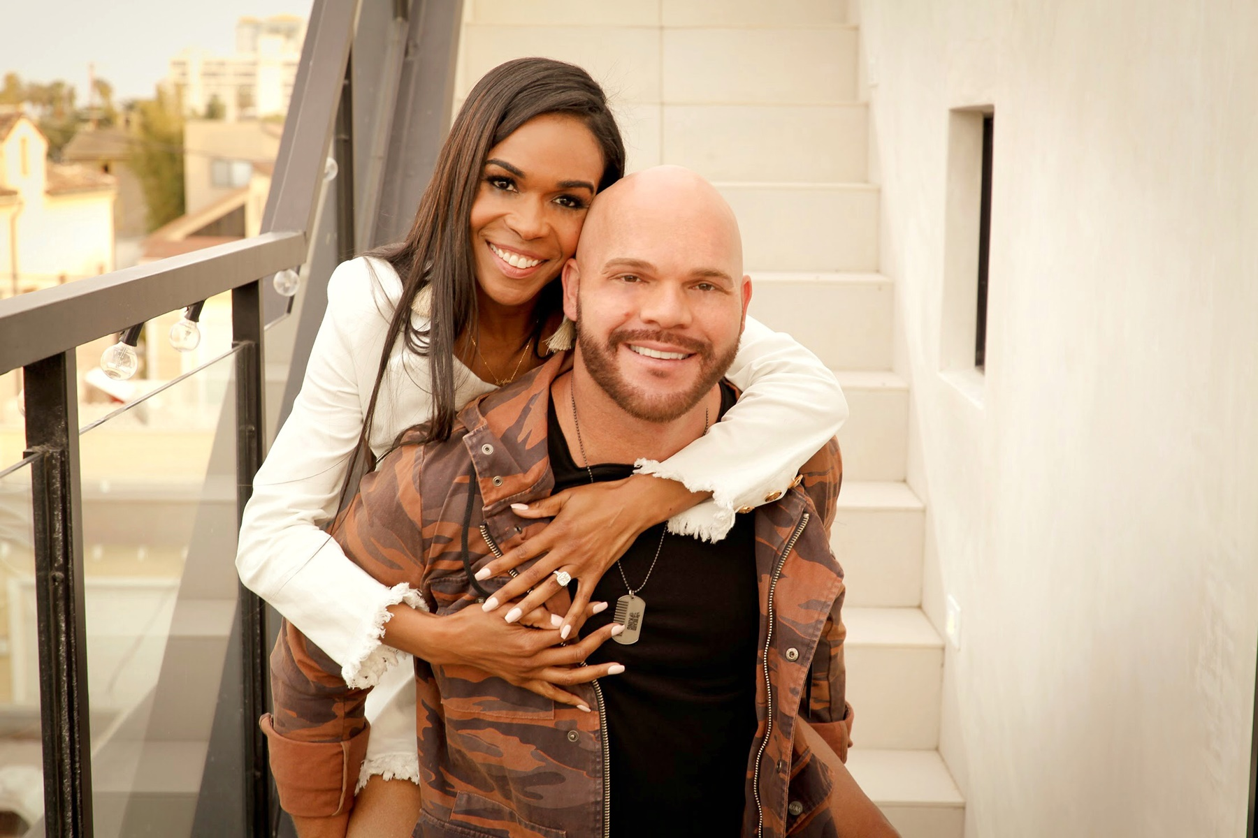 Michelle Williams Chad Johnson Together Again