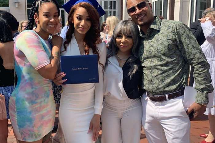 T.I.'s Daughter, Deyjah, Looks Stunning With Her Two Mothers At Graduation Ceremony -- Check Out Why Some Tiny Harris Fans Are Blasting The Dress Code Fashion Police Criticizing The Pictures